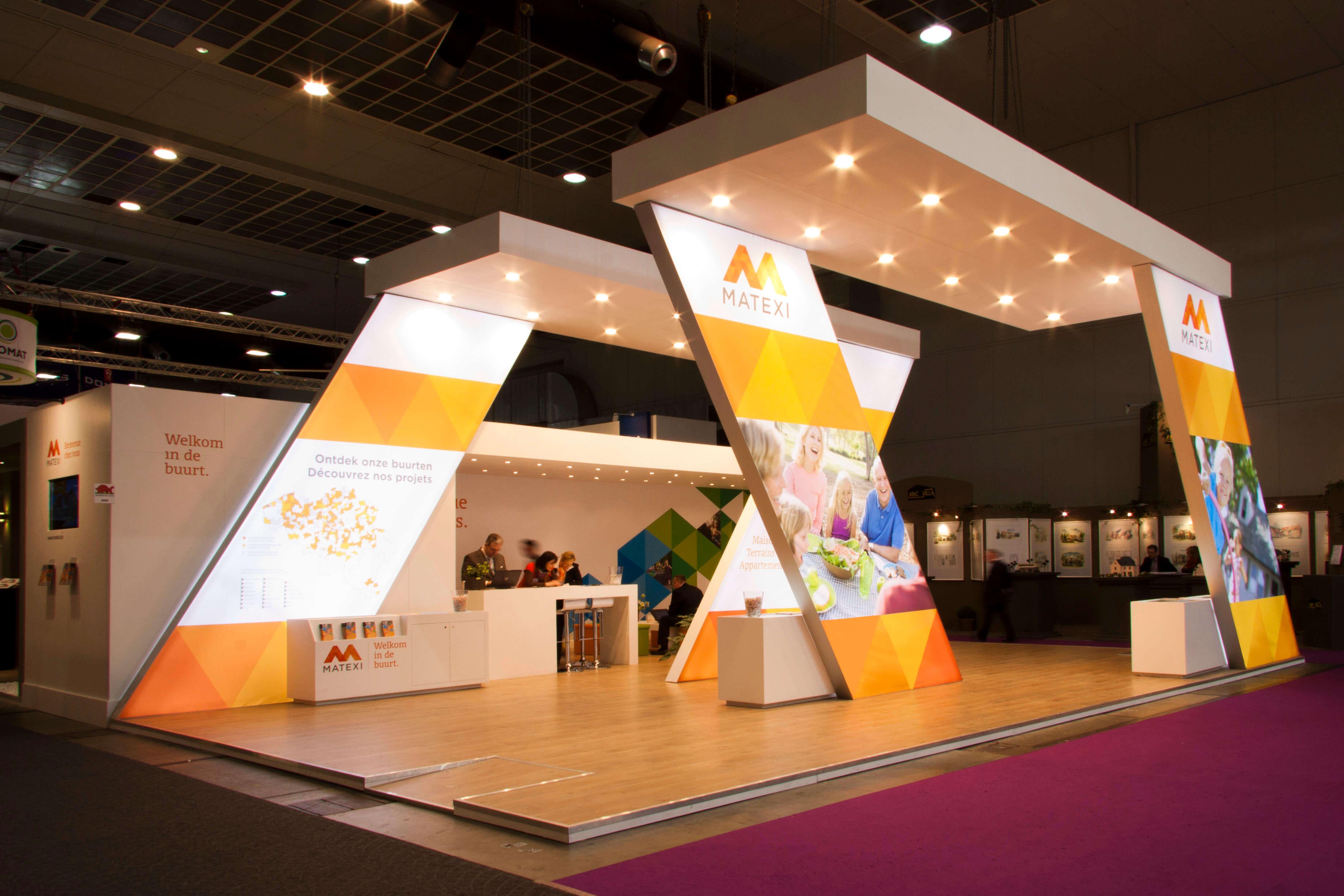 Pr parer ses salons n 39 oubliez pas le stand design for Design de stand